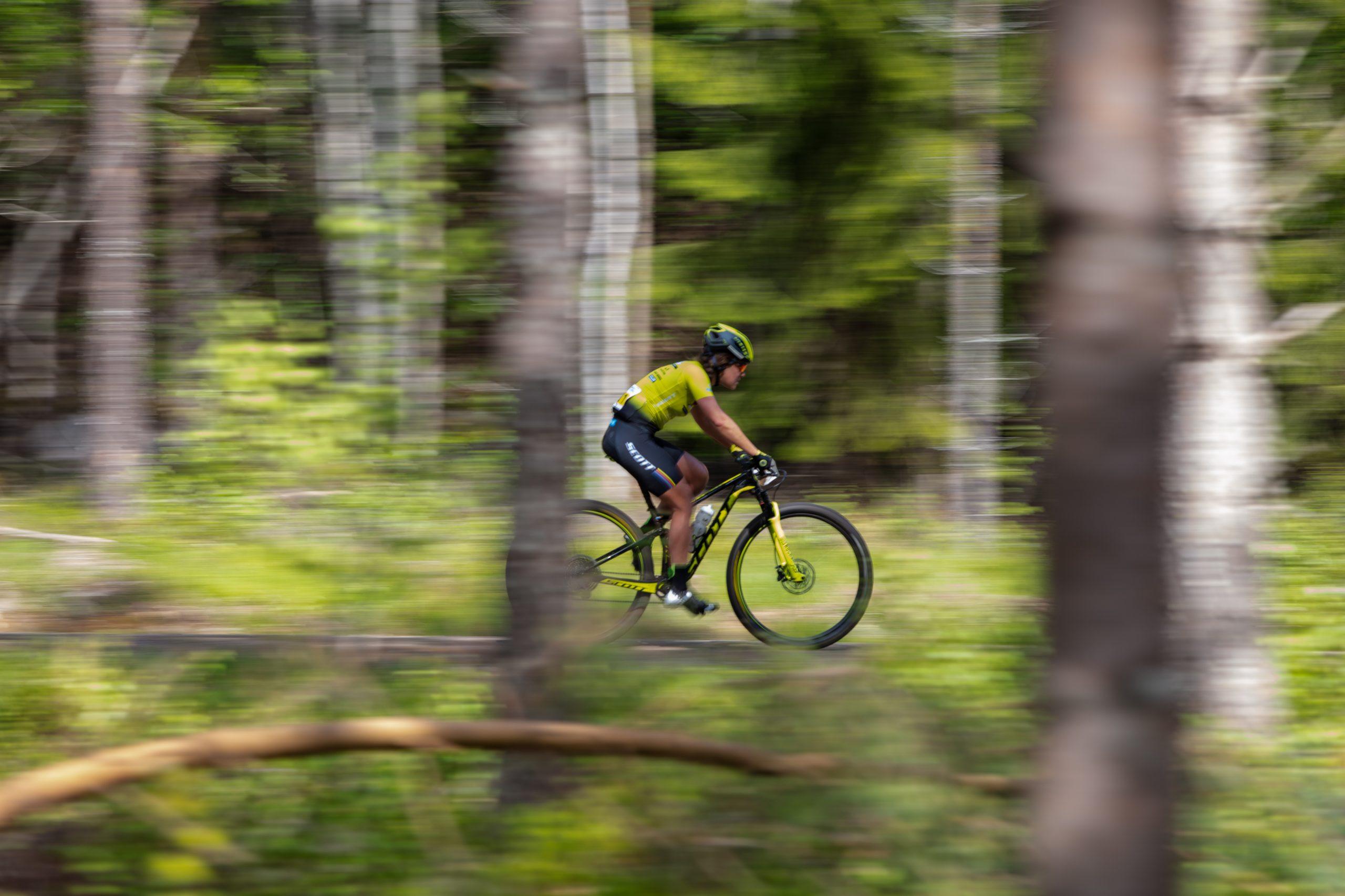 Marika: Att cykla är äventyr